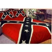 Confederate Rebel Flag Comforter Set