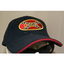 97b6bcbab88 C.S.A PATCH HAT · DIXIE TRADITION HAT · EMBROIDERED REBEL VISOR